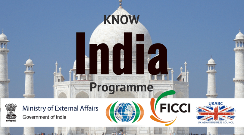 """UKABC Promotes """"Know India Programme"""" (25-days across India for young Indian diaspora)"""