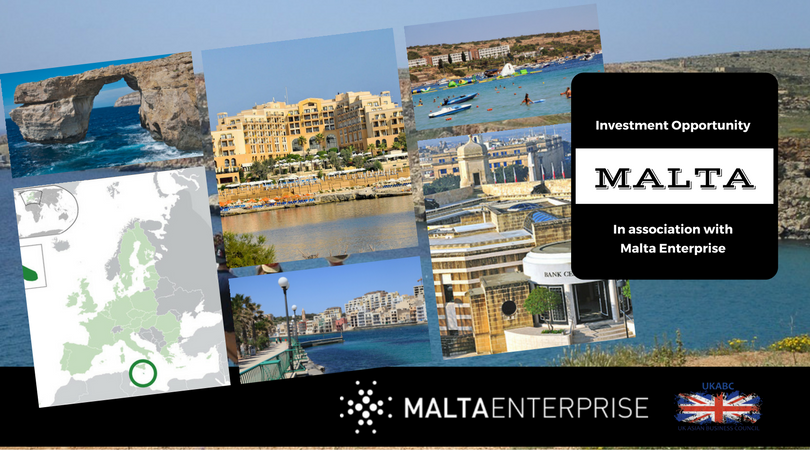 UKABC Promotes Investment opportunities Malta, in association with Malta Enterprises