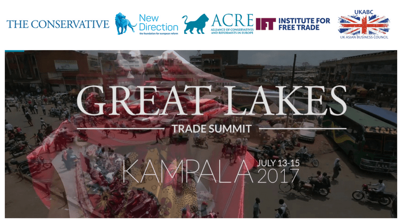 UKABC Promotes Sponsorship Opportunities at Kampala 2017 – GREAT LAKES TRADE SUMMIT – 13-15 July 2017
