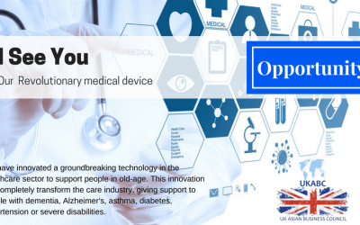 """UKABC Invites you to Explore : """"I See You"""" Our revolutionary medical device"""