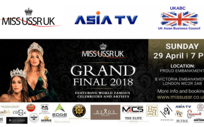 MISS USSR Grand Finale 2018 – Join us at this grand showcase at 7pm on the 29th of April 2018, at Victoria Embankment