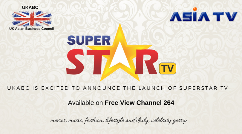 UKABC is excited to announce the launch of Super Star TV – Available on FreeView Channel 264
