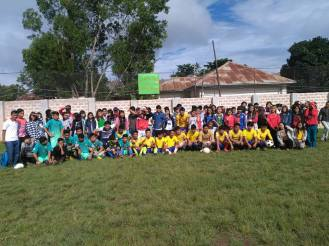 After the successful football matches of the S.A.G. students (2)
