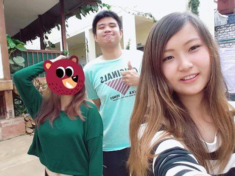 My lovely students Josephine and Kham Bu