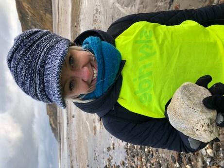 Ventriculites sponge found by Claire Hempstead