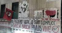 Pavlos Vive! Taken in Rome, below a tribute to Dax.