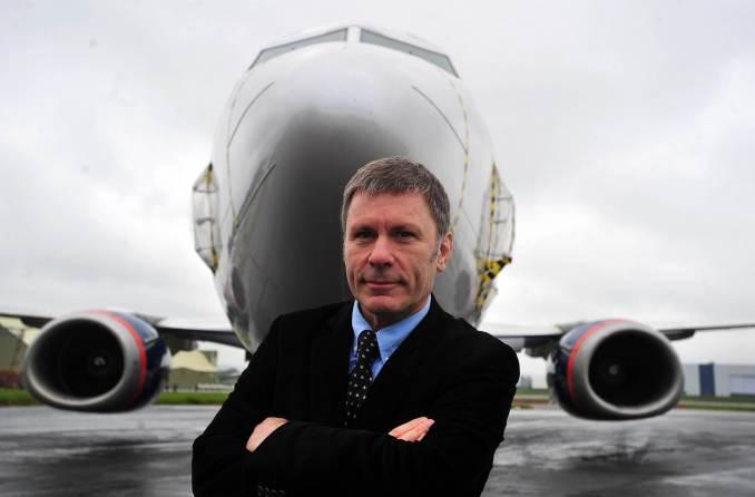 Cardiff Aviation - Bruce Dickinson