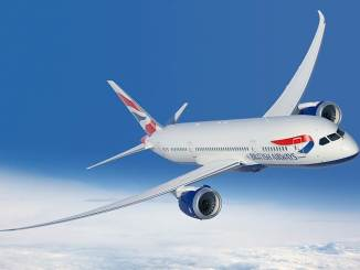 British Airways Boeing 787 (Courtesy of British Airways)