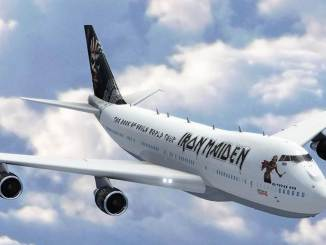 Artists Impression of Ed Force One (Image Courtesy of Iron Maiden)