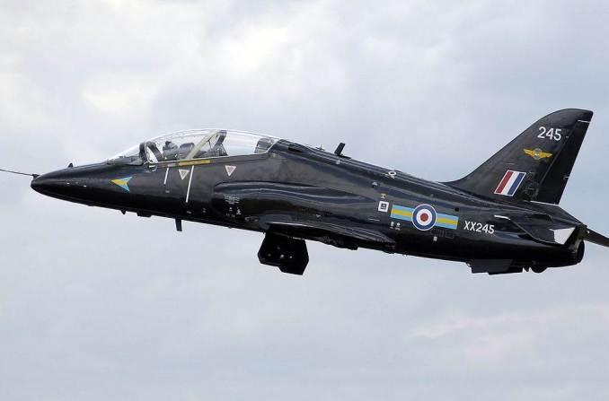 208 Squadron BAe Hawk (Image: Adrian Pingstone)