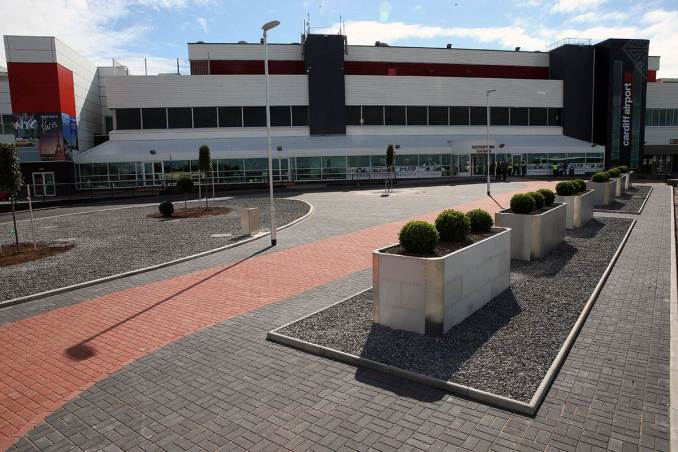 Cardiff Airport Terminal