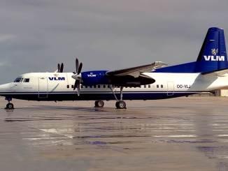 Fokker 50 VLM Airlines (Pedro Aragão / Wikimedia Commons)