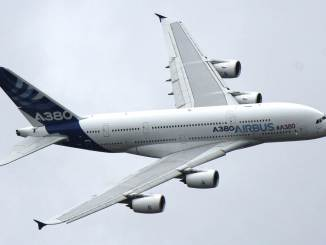 Airbus A380 at Farnborough Air Show (Image: Aviation Media Co.)