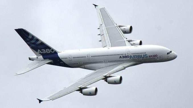 Airbus A380 at Farnborough Air Show (Image: Aviation Media Co.)