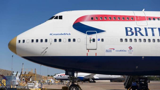 British Airways G-CIVA victoRIOus (British Airways)