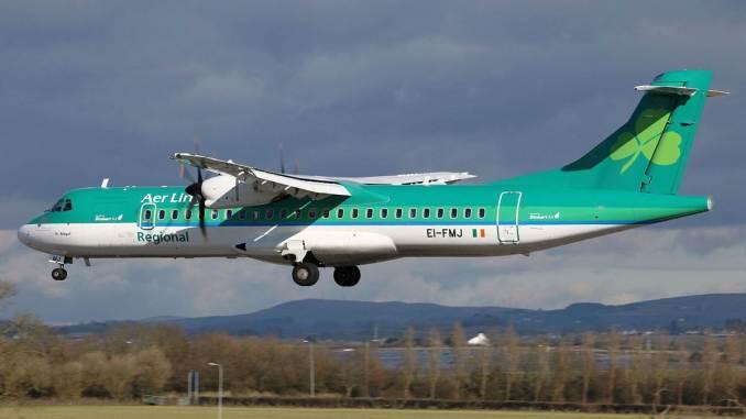 Stobart Air ATR (Image: Shaun Grist)