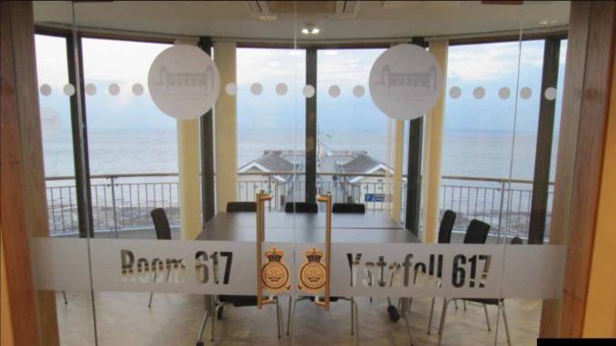 The 617 Room at Penarth Pavillion (Image: Kath Fisher/Aviation Wales)