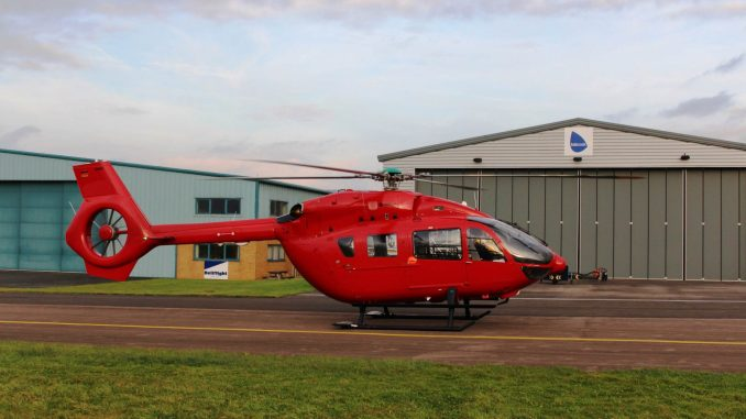 New Airbus H145 for Wales Air Ambulance (Image: WAAC)
