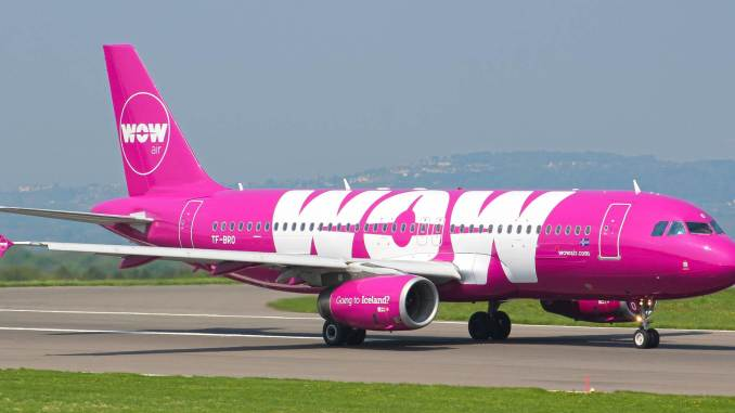 WOW Air Airbus A320 TF-BRO (Image: Nick Harding / Aviation Wales)