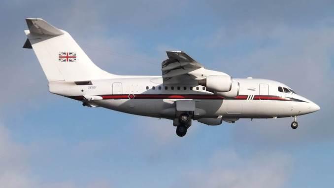 BAe 146 ZE701 (Image: Mark Harkin/Wikicommons CC.2)