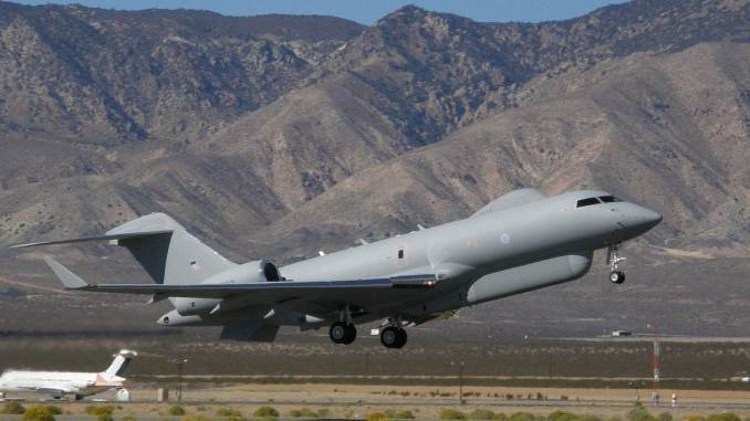 RAF R1 Sentinel (Image: Alan Radecki)
