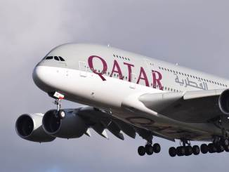 Qatar Airways A380 (Image: Aviation Wales)
