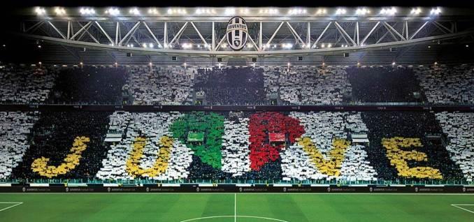 Juventus name displayed in their Stadium (Image: File/Juventus)