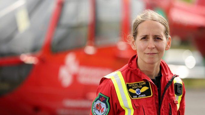 Dr Ami Jones (Image: EMRTS)