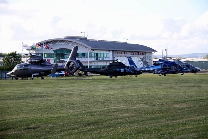 Cardiff City Heliport (Image: Mike Freshney)