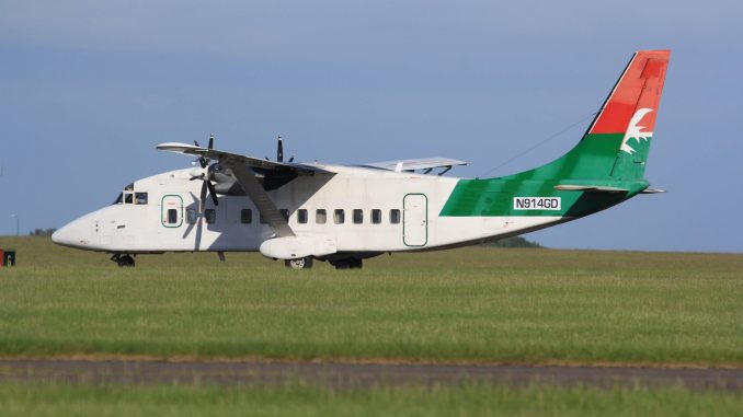 N914GD {Image: Aviation Wales)