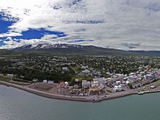 Akureyri from the Sky (Image: Bob T)