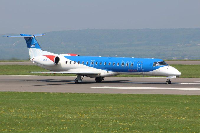 bmi regional at Bristol Airport