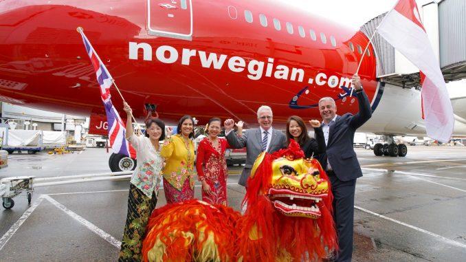 Norwegian Singapore launch