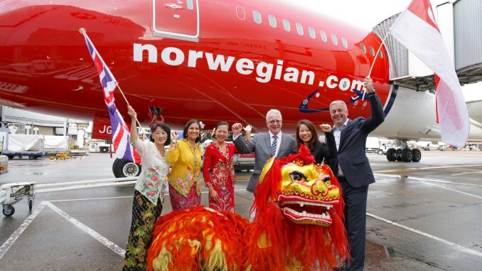 Norwegian Singapore launch