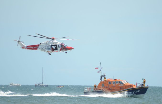 Coastguard and RNLI Winch