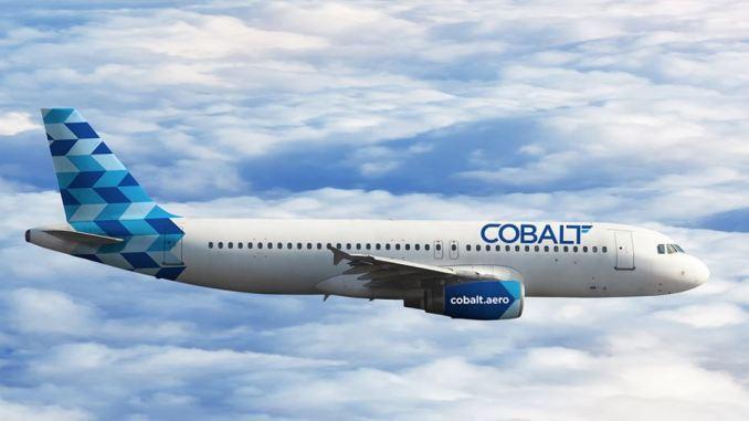 Cobalt Air expands into gatwick