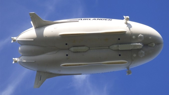 Airlander 10 rips apart injuring one woman in latest mishap