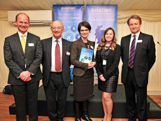 (L – R) Speakers on the evening included Air Vice-Marshal Mike Wigston CBE Assistant Chief of the Air Staff, Air Marshall Sir Christopher Coville RAF, MP Norwich North Chloe Smith, ASP Ambassador Anna McGrady and ASP Founder and Chief Executive Simon Witts