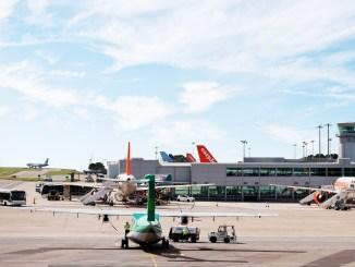 Bristol Airport apron
