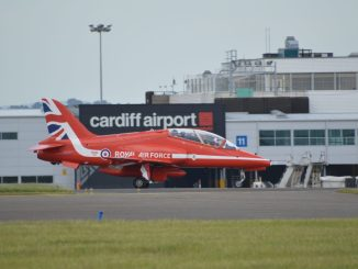 Red Arrows Hawk T1A