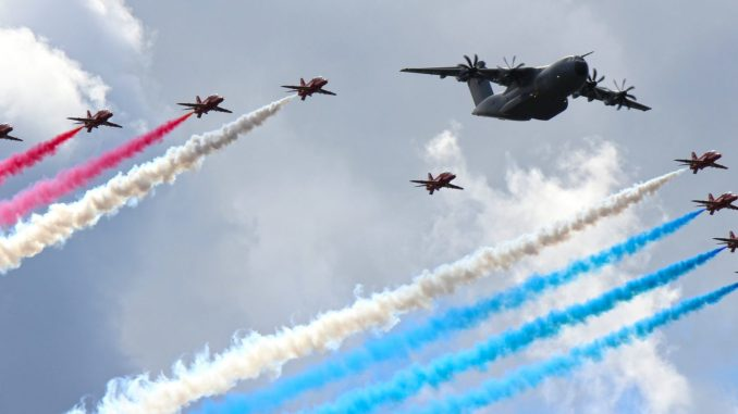 The Red Arrows (Image: Aviation Media Agency)