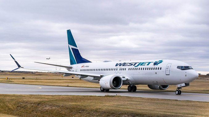 WestJet 737 Max 8 (Acefitt/CC BY-SA4.0)