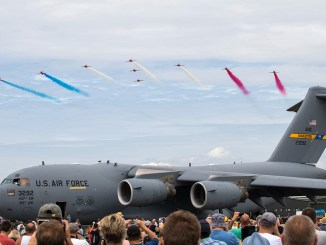 USAF C-17 Globemaster - Winners of the Best Static Display 2017 - Paul Johnson