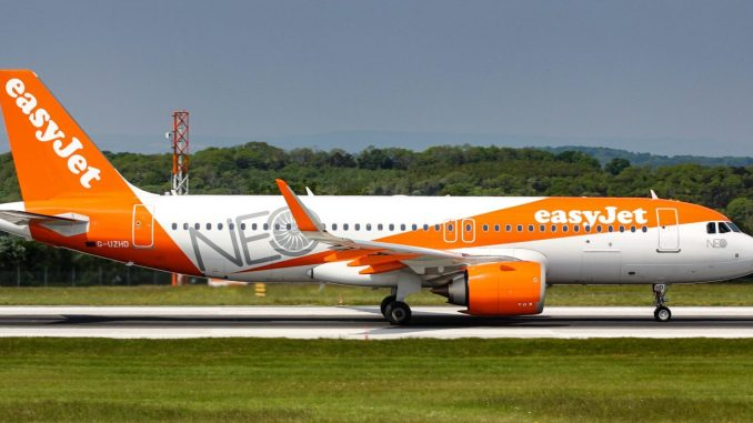 Easyjet A320neo (Image: Aviation Media Agency.)