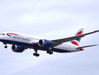 British Airways 787 powered by Roll-Royce Trent 1000 Engines