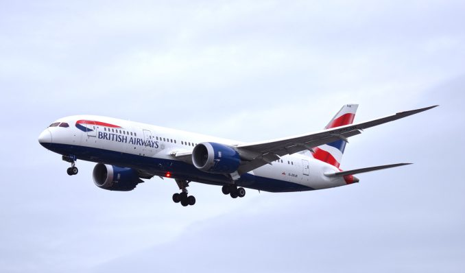 British Airways 787 powered by Roll-Royce Trent 1000 Engines. (Aviation Media Agency)