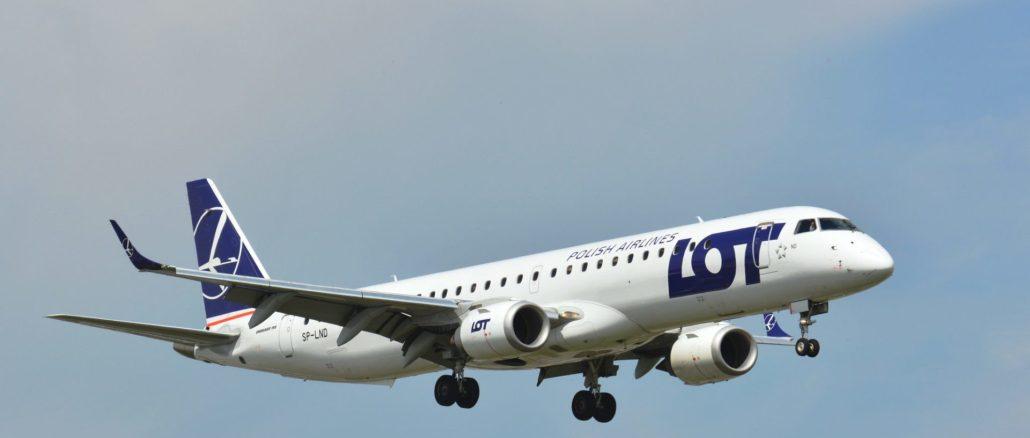 LOT Embraer (Image: LOT)