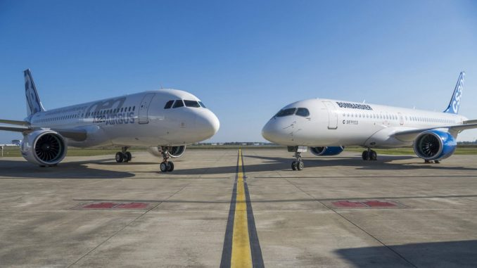 Airbus and Bombardier (Image: Airbus)