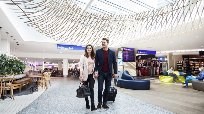 Departure Lounge at Bristol Airport