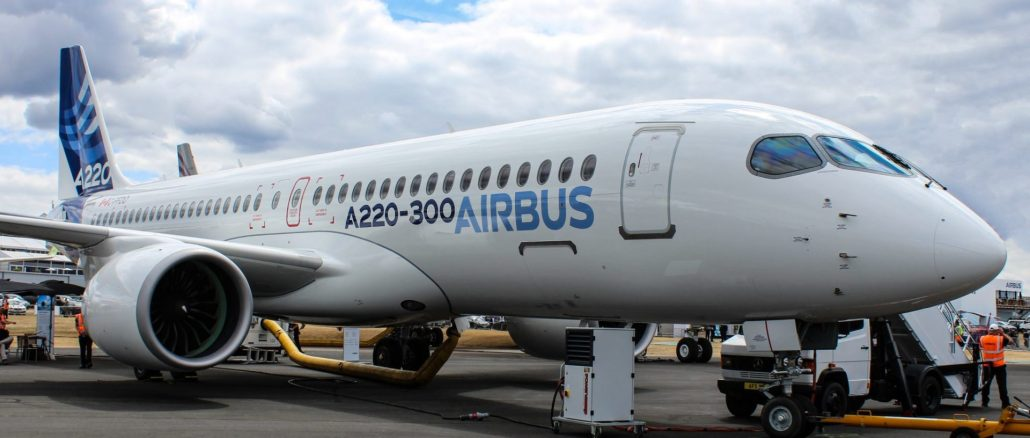 Airbus A220 (Image: TAMC)